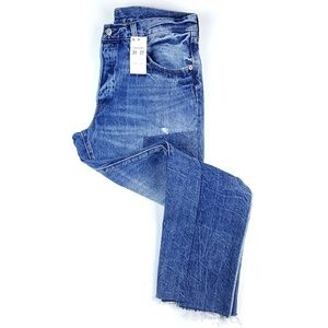Levi's 501Original Jeans in Ragged Lands Patchwork